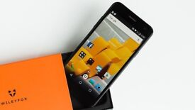 Wileyfox Spark 5 inch 1GB 8GB Sim Free Unlocked Smartphone - Sandstone Black
