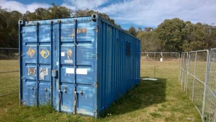 Shipping Container Dangerous Goods Ex Rental Stock The Summit Southern Downs Preview