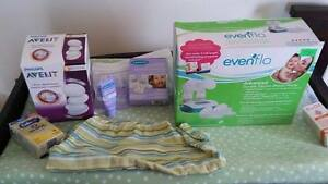Double Electric Breast Pump with extras