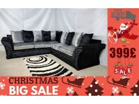 X-mass Sale *** 1 YEAR WARRANTY *** BRAND NEW VEGAS CORNER SOFA OR 3+2 SEATER