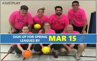 Join FCSSC this Spring to play Adult, Co-ed Sports!