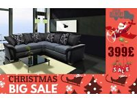 BRAND NEW FEBRIC SHANNON 3+2 seater sofa corner sofa