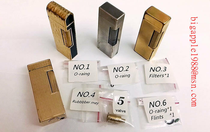 1960-1970  Dunhill Gas Lighter repair Kit (non-OEM) & Free DIY Video on Youtube