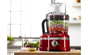 KitchenAid KFP1642CA Candy Apple Red Pro Line 16-cup Food Proces