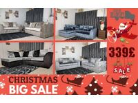 BRAND NEW CRUSH VELVET JULIA SOFA CORNER OR 3+2 SEATER