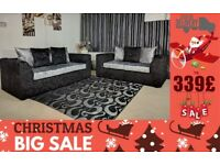 X-mass Sale BRAND NEW CRUSH VELVET JULIA SOFA CORNER OR 3+2 SEATER