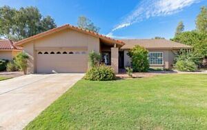 3 bed, 2 bath bungalow for rent in gated community in Mesa, AZ