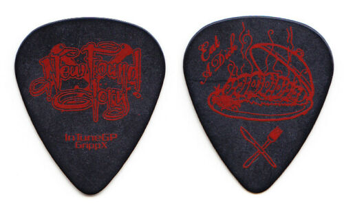 New Found Glory Eat a D!ck Black/Red Tour Guitar Pick