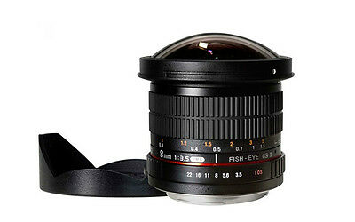 Samyang 8mm F3.5 AS UMC Fisheye CS II Lens for Nikon AE mount