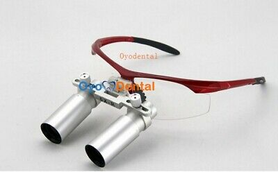 6.0x 420mm Medical Loupes Binocular Surgical Magnifier Dental Loupes Eyeglasses