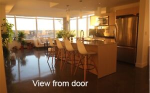 Furnished Luxury Condo on LRT line. 6 month term available!