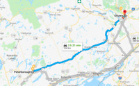Looking for ride Peterborough to Ottawa Friday Jan. 18th
