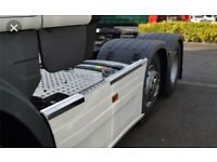 Scania 6x2 midlift side skirts