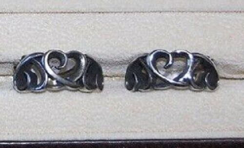 Wholesale Lot of 12 Stainless Steel Three Hollow Hearts Cast Ring