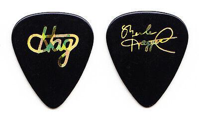 Merle Haggard Signature Black Guitar Pick - 2002 Tour