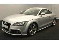 Silver AUDI TT COUPE 1.8 2.0 TFSI Petrol S LINE FROM £45 PER WEEK!