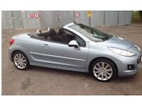 Reduced - Immaculate Peugeot 207 GT Convertible excellent condition low mileage 1.6
