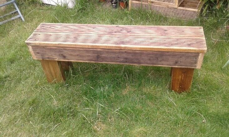 Fine Rustic Garden Bench In Kings Heath West Midlands Gumtree Ncnpc Chair Design For Home Ncnpcorg