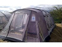 Outwell Glendale 5 Tent With Matching Ground Sheet & Carpet