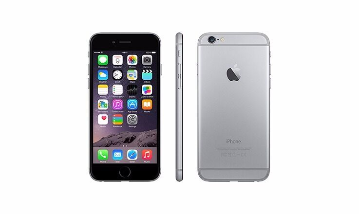 Iphone 6 black grey 16GB, unlocked