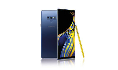 Samsung Galaxy Note9 SM-N960U1 - 128GB - Ocean Blue (Factory Unlocked) A