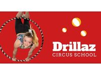 Drillaz Circus School Junior - Circus classes for 8-11 year olds