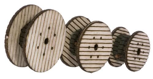 Noch 14438 Tt Gauge,Cable Reels (Laser-Cut Minis Kit) # New Original Packaging #
