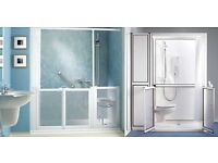 Disabled Shower Acess Door and Frame
