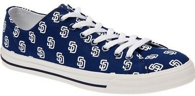 San Diego Padres Row One Shoes Sneakers Unisex MLB Baseball NEW NIB Apparel - San Diego Clothes