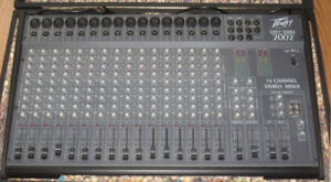Peavey Unity Series 2002 16 channel stereo mixer