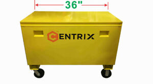 Centrix yellow jobsite box from $259.00 (Alberta Drywall)