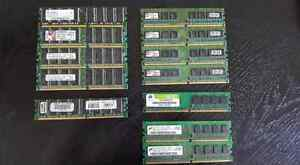 Assorted Desktop Ram