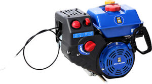 420cc Winter gas engine w/electric start and charging coil