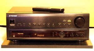 Pioneer Vintage Receiver Model VSX-455 With Remote. Rare.