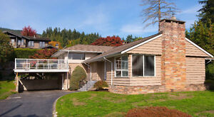 West Vancouver Home newly remodelled