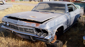 Iso 1965 impala ss and or parts