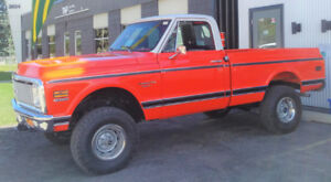 1971 Chevy K10 Vintage Truck Raffle for Charity.  Final Month!