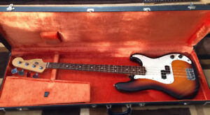 1996 Fender Precision Bass (Sunburst) 50th Anniversary Edition