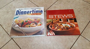 Brand new cookbooks