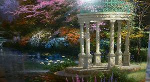 "Thomas Kinkade ""Garden of Prayer"" Art Print Stratford Kitchener Area image 7"