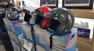 casque de moto et vtt