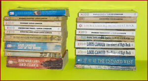 Large Group of  Louis L'Amour Soft Cover Pocket Books