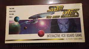 Complete Star Trek VHS Board Game