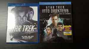 Star Trek and Star Trek Into Darkness Blu-Ray