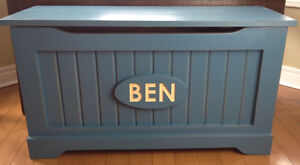 Handmade Solid Wood Engraved Toy Chests- SHOP LOCAL THIS YEAR London Ontario image 2