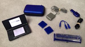 Cobalt Blue, Nintendo DS Lite Console & accessories