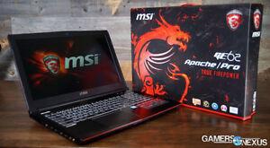 MSI Apachee Pro GE62 Gaming Laptop