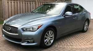 2014 Infiniti Q50 AWD – low kms, 1 owner, dealer maintained
