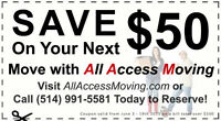 SUMMER MOVING DISCOUNT OR REBATE MONTREAL MOVERS