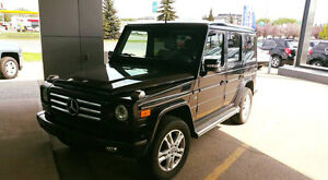 2012 Mercedes-Benz G-Class 550 SUV, Crossover